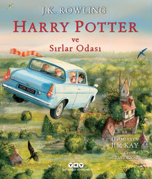 Harry Potter ve Sırlar Odası - 2 (Resimli Özel Baskı)