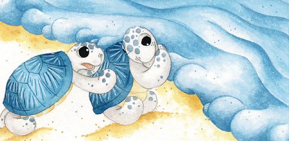 Ayışığını Arayan Denizkaplumbağaları Çıtırcık ile Pıtırcık
