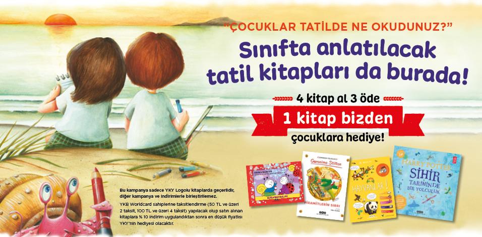 Çocuklar tatilde ne okudunuz?