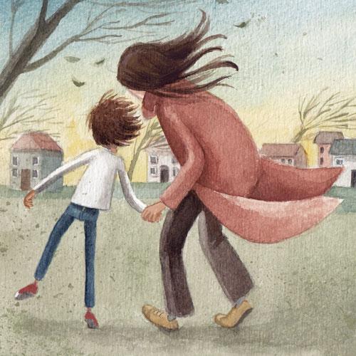 Rüzgârla Uçan Çocuk