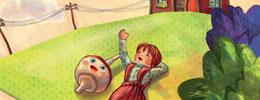 Tahta Topaç ile Bez Bebek