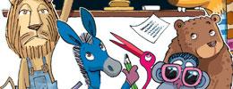 Mavi Eşek ile Aylak Aslan - Öyküsünü Arayan Hayvanlar