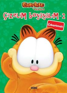 Çizelim Boyayalım 2 - Garfield ile Arkadaşları (çıkartmalı)