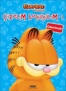Çizelim Boyayalım 1 - Garfield ile Arkadaşları (çıkartmalı)