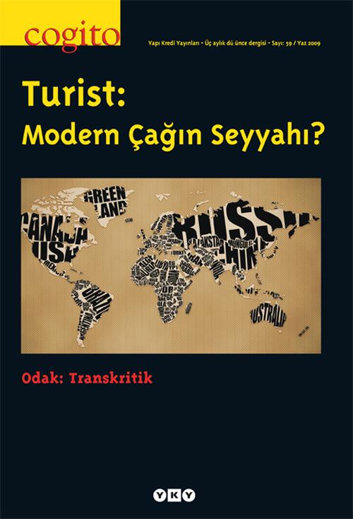 Turist: Modern Çağın Seyyahı?
