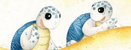 Ayışığını Arayan Denizkaplumbağaları - Çıtırcık ile Pıtırcık