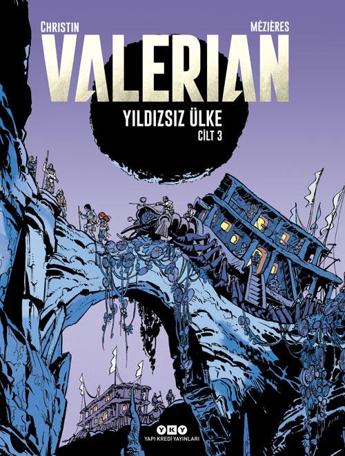 Valerian Cilt 3 - Yıldızsız Ülke