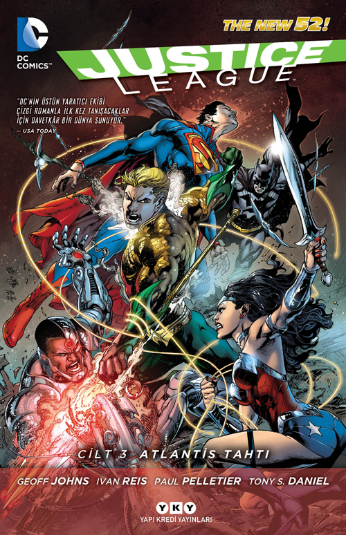 Justice League 3 - Atlantis Tahtı
