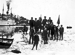Conquest of the ice isle. 1954. Photograph: Ara Güler