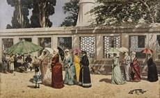 Osman Hamdi Bey Feraceli Kadınlar 1887, tuval üzerine yağlıboya, 84 x 132 cm
