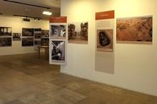 The exhibition area from a different viewpoint