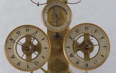 Mehmet Şükrü yapımı çift balanslı Türk saati, Topkapı Sarayı Koleksiyonu