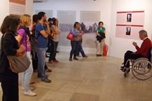 Jürgen Seeher informing visitors about the Hattusha excavations