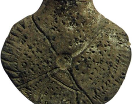 Demirci Höyük'te ele geçmiş Pişmiş toprak, idol