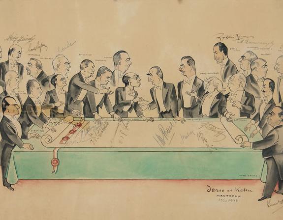 The Montreux Convention, 1936