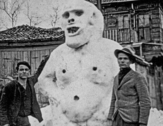 Snowman. 1929