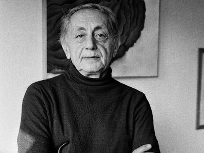 İlhan Berk. Fotoğraf: Ara Güler, 1981, İstanbul, Copyright: Ara Güler Doğuş. Sanat ve Müzecilik A.Ş.