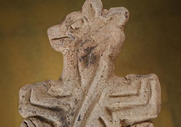 Kil damga mühür, Neolitik Dönem, Konya Arkeoloji Müzesi
