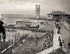 Svetozar Grdijan: Opening of Victory Monument in Kalemegdan, Belgrade, 1928. Borba Fotodokumentacija