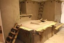 Düz damlı Çatalhöyük evlerini gösteren sergi uygulaması