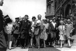 Mustafa Kemal, 6 Ağustos 1929 Salı günü Ankara'dan İstanbul'a geldi. Kendisini karşılayanlar arasında Türkiye Büyük Millet Meclisi Başkanı Kâzım Paşa da bulunuyordu.