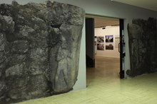 View of the exhibition from the entrance