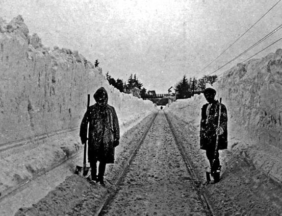İstanbul-Feneryolu. 4 Şubat 1929. Fotoğraf: Fahri Seyrek