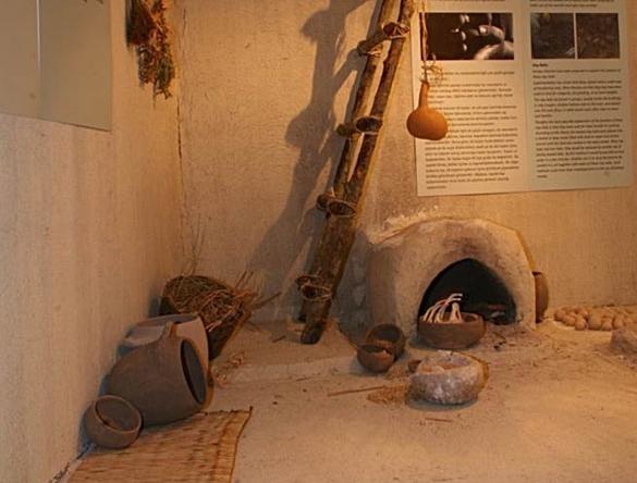 Çatalhöyük evi, başka açıdan