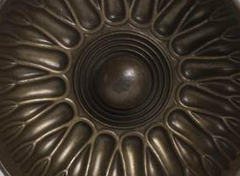 Bronz Frig göbekli hamam tası