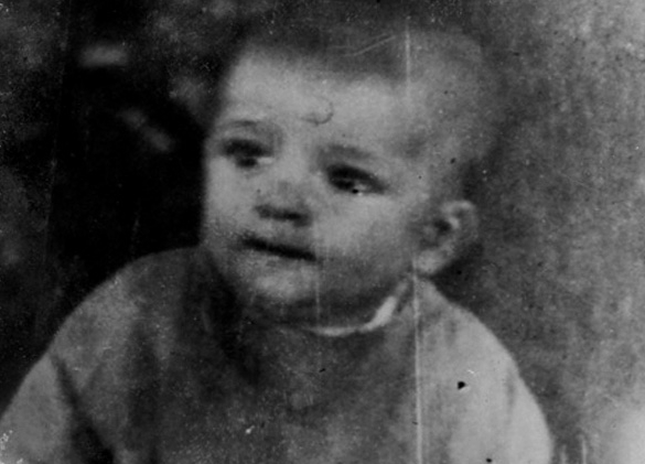 As a baby