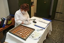 Coin collection laboratory and workshops