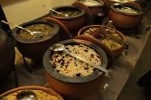 Sergi açılış akşamı için özel hazırlanan Lidya yemekleri