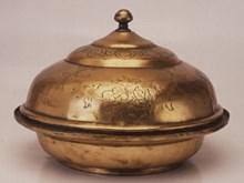 Tombak lidded bowl