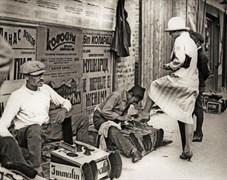 Aca Simic: Belgradlı ayakkabı boyacısı, Belgrad, 1926. Muzej Primenjene Umetnosti