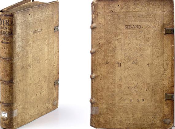 Strabo[Strabonis geographicorum] Strabon.- Basilae, 1523, 556 sayfa