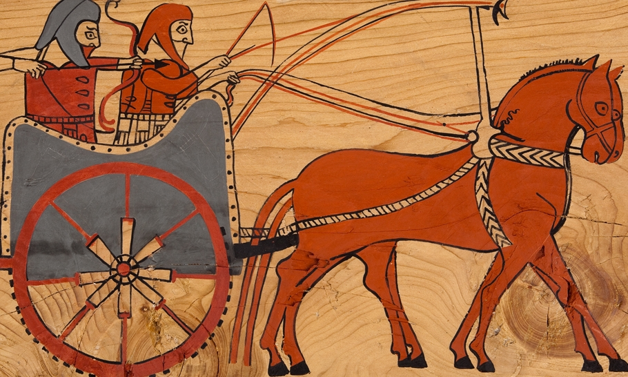 Tatarlı savaş frizi ayrıntısı, İskitli, replik.