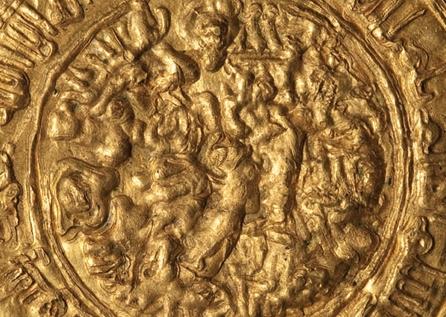 Tuğrul Bey dönemi, Büyük Selçuklular sikkesi, Basım yeri Med Selam, Altın