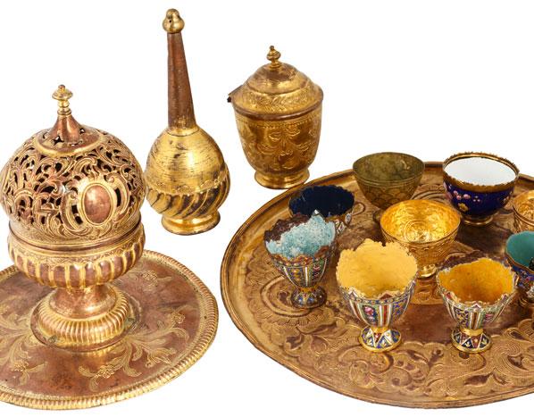 Kahve sunumu - Gökhan Turhan-Göksel Turhan Koleksiyonu