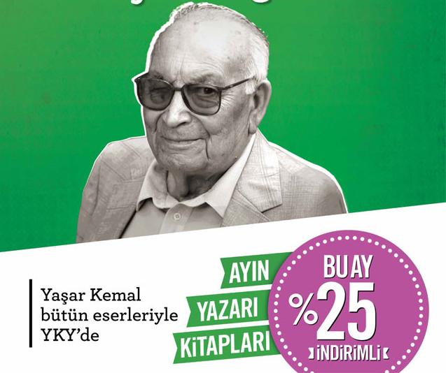 Şubat Ayı Yazarı: Yaşar Kemal