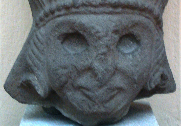 Kibele heykel başı