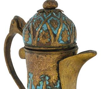 Tombak Kahvedan - Çiğdem Simavi Koleksiyonu