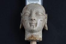 Fildişi kadın başı