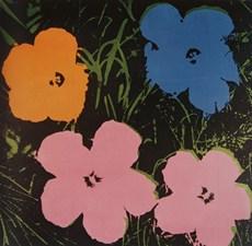 Andy Warhol Flowers 1964, tuval üzerine yağlıboya, 73.5 x 73.5 cm