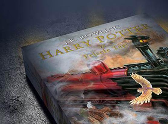 Rengarenk resimlerle canlanan Harry Potter İstanbul Kitap Fuarı'nda!