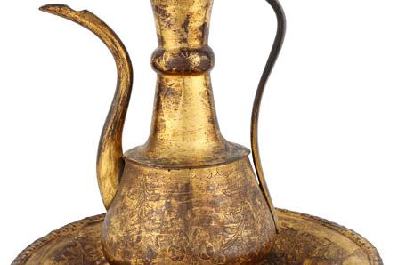 Tombak Leğen-İbrik - Ercan Topçu Koleksiyonu