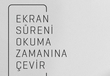 Yapı Kredi Yayınları, ekran sürelerini okuma sürelerine dönüştürüyor