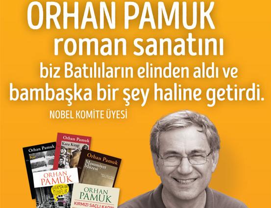 Şubat Ayı Yazarı: Orhan Pamuk
