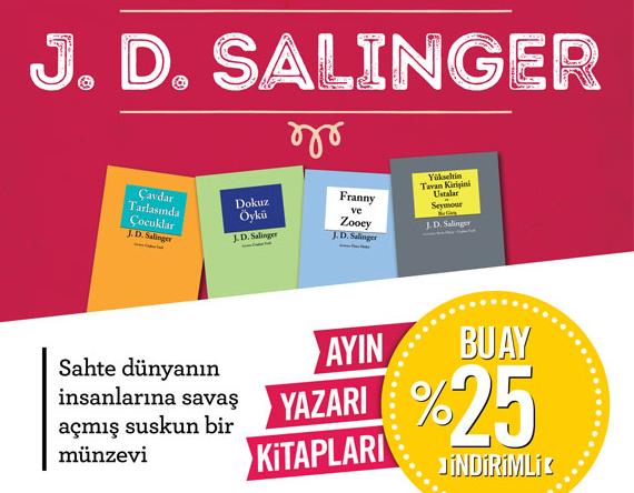 Ocak Ayı Yazarı: J. D. Salinger