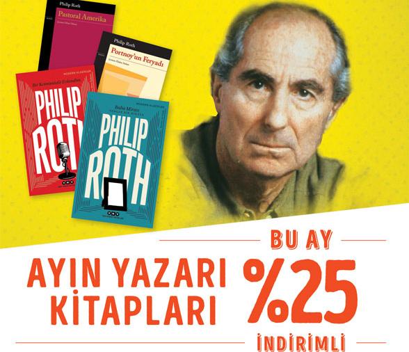 """Philip Roth yazarken ellerini kirletmekten çekinmeyen, """"düşünsel karmaşayı en iyi ortaya koyan"""" yazar..."""