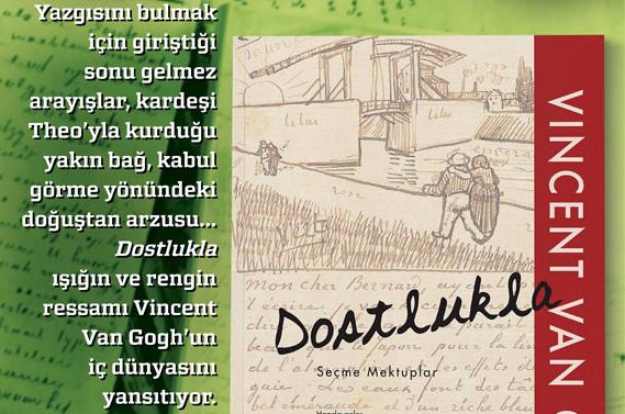 Ekim Ayı Kitabı: Vincent Van Gogh - Dostlukla